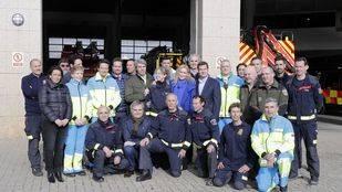 Cifuentes visita los servicios de emergencias de la Comunidad