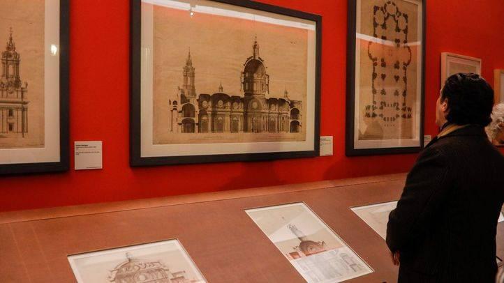 La Real Academia de Bellas Artes de San Fernando, la Comunidad de Madrid y el ministerio de Educación, Cultura y Deporte, han presentado una exposición recordando la obra del arquitecto Ventura Rodríguez.