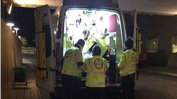 Los heridos han sido trasladados a diversos hospitales de Madrid.