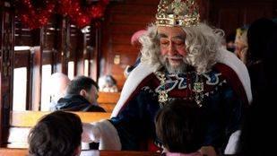 El 'Tren de Navidad' recorre El Pardo