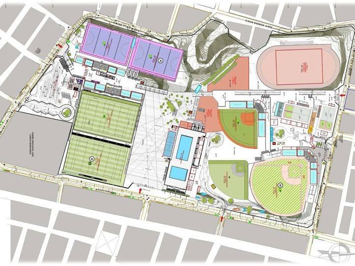 Sacyr rehabilitará un complejo deportivo para los Juegos Panamericanos en Lima