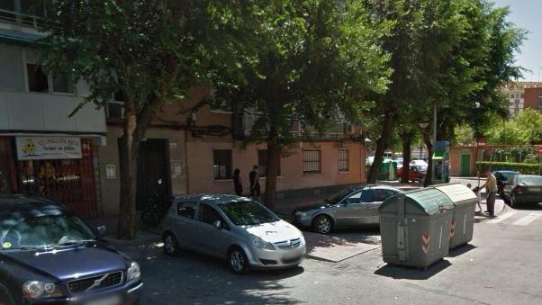 La calle calle de Diego Ros y Medrano, en Alcalá de Henares, donde se produjo el incendio