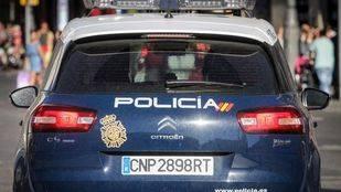 Foto de archivo de un coche patrulla de la Policía Nacional