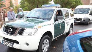 Foto de archivo de un coche de la Guardia Civil