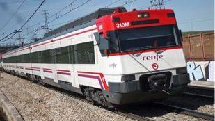 Tren de Cercanías Renfe.
