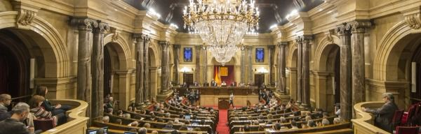 Hemiciclo del Parlament de Cataluña