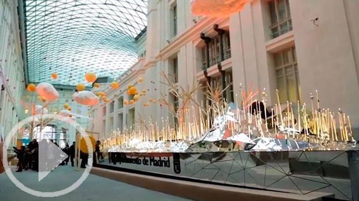 La Galería de Cristal se llena de deseos para la Cabalgata