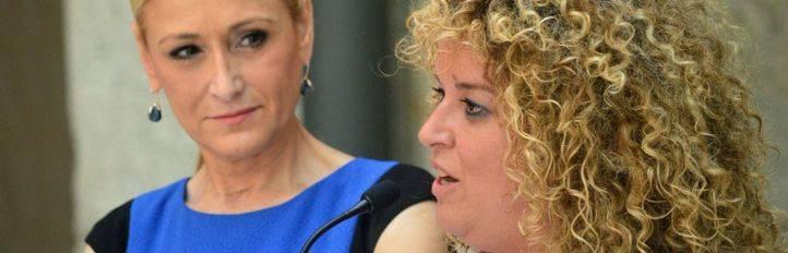 Cristina Cifuentes y Cristina Moreno, alcaldesa de Aranjuez.
