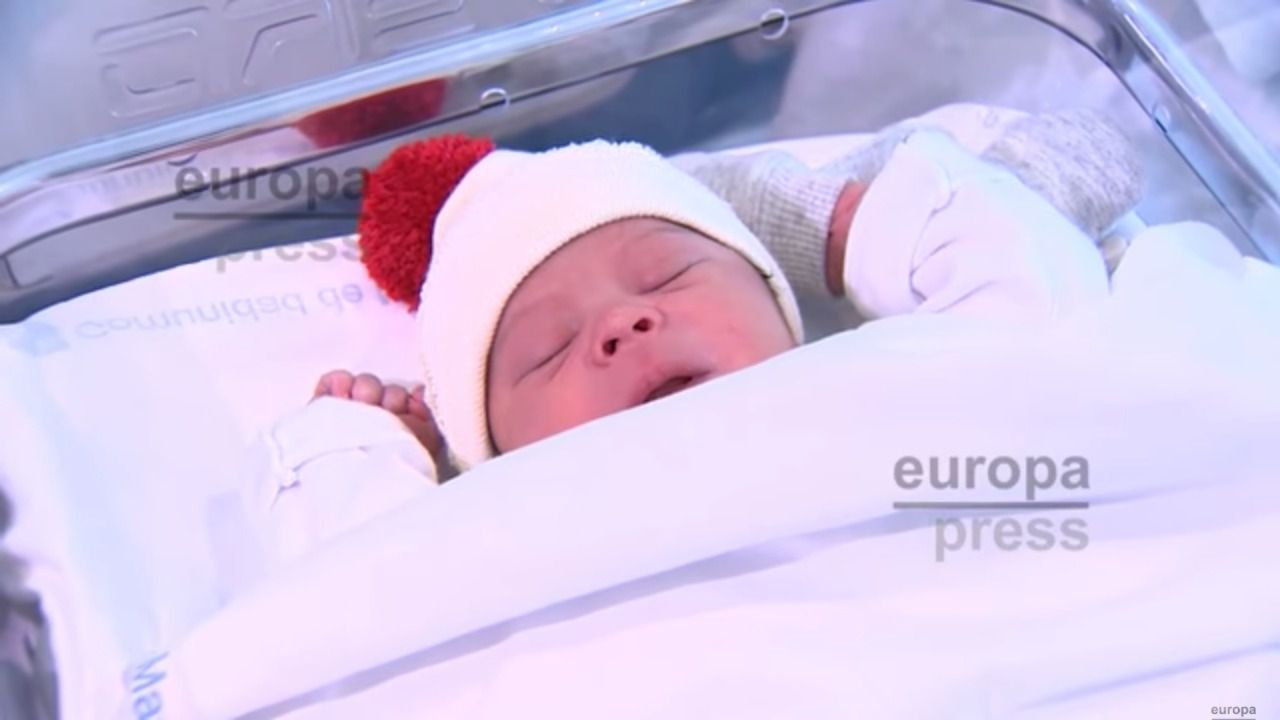 Derek, primer bebé madrileño del año