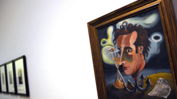 Autorretrato de Eugenio Granell, en el Museo Thyssen.
