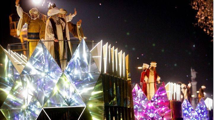 Cabalgata de los Reyes Magos 2017.