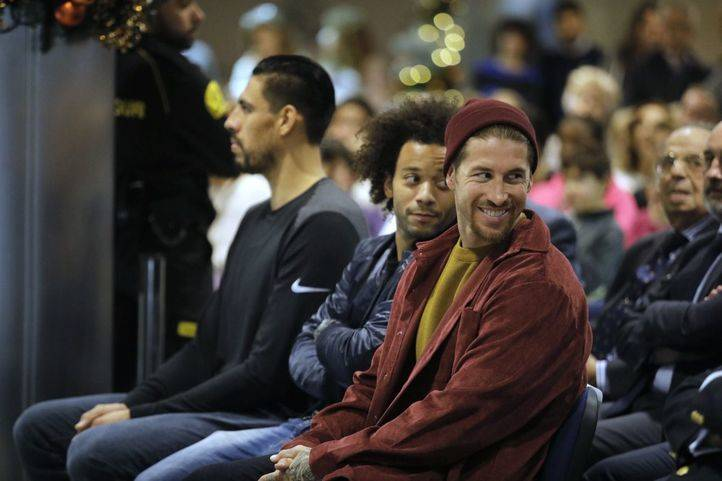 'Ningún niño sin regalo': Ramos, Marcelo y Ayón reparten ilusión