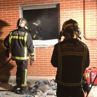Muere una mujer en un fuego en Alcobendas