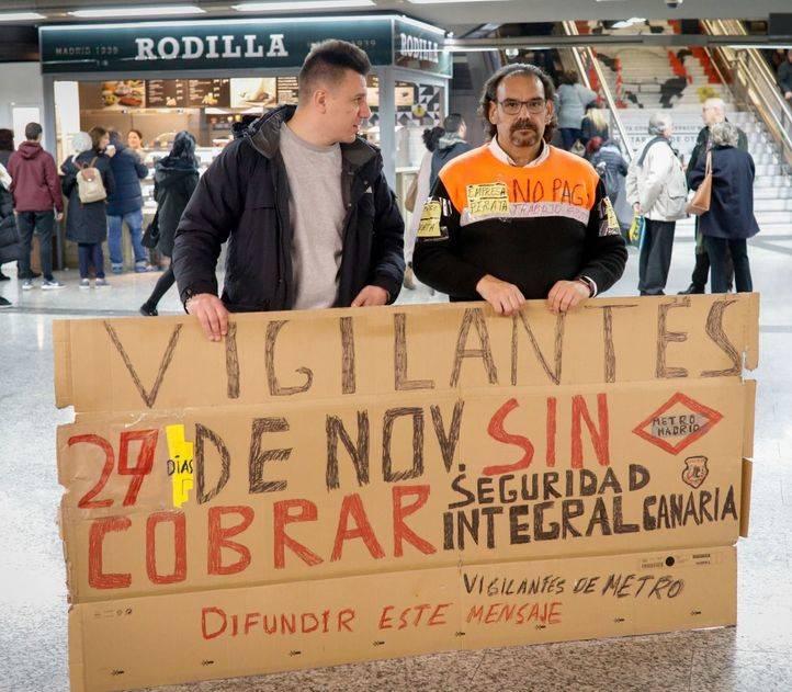 Los vigilantes de Seguridad Integral Canaria, subrogados a finales de mes