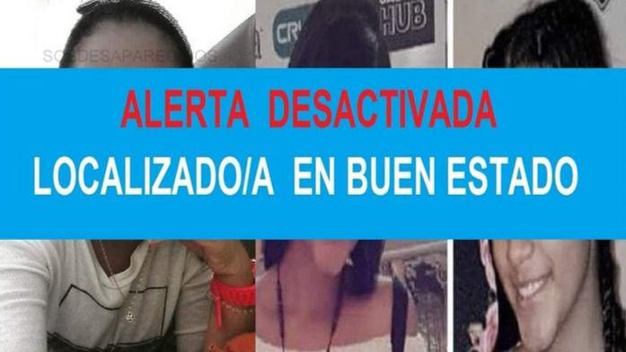 Menor desaparecida en San Blas.
