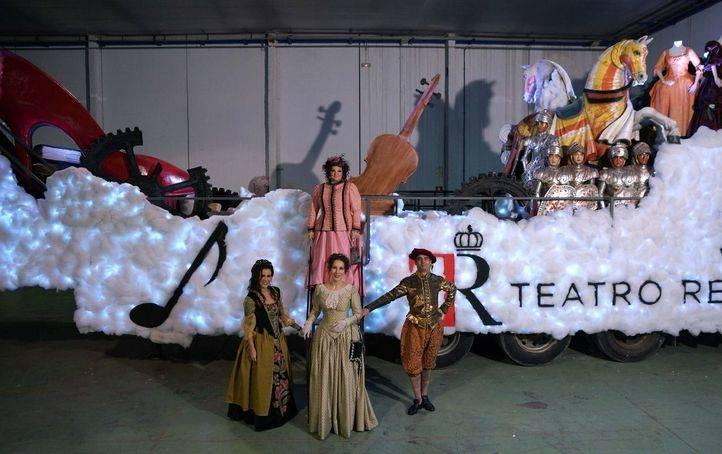 La carroza 'Estrella de Navidad' abrirá la Cabalgata de Reyes cargada con los deseos de los madrileños