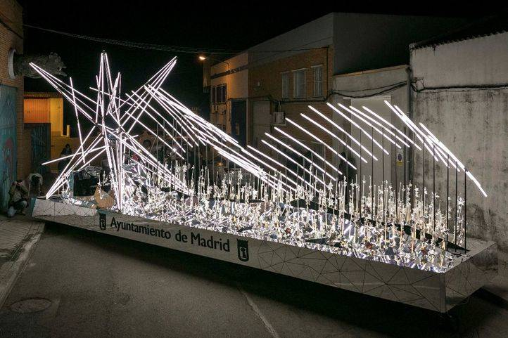 La carroza 'Estrella de Navidad' abrirá la cabalgata