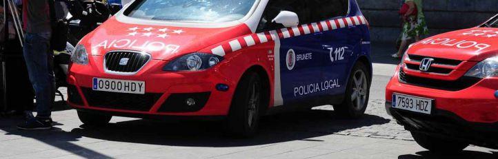 Foto de archivo de un coche de la Policía Municipal de Brunete, Bescam local.