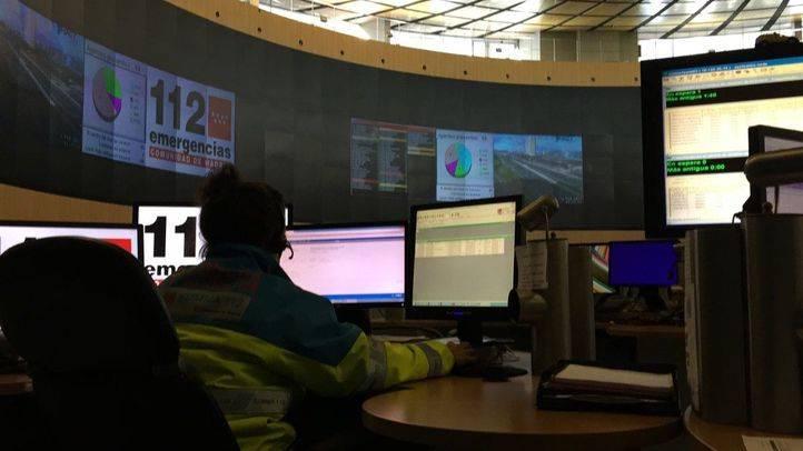 Imagen de archivo del Centro Coordinador de Emergencias 112.