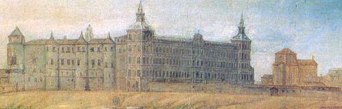 El alcázar que resurgió de las cenizas como palacio