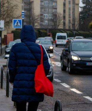 El frío congela Madrid