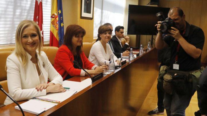 Cifuentes compareció en junio en la comisión. La asistencia es obligatoria por ley.