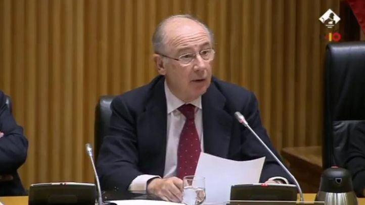 Rodrigo Rato, en la comisión del Congreso de los Diputados.
