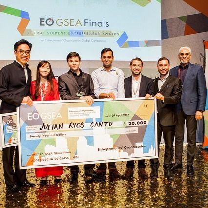 EO organiza la mayor competición mundial de emprendedores universitarios