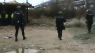 Operación policial para detener a los autores del robo de un camión cargado con 1.800 bombonas