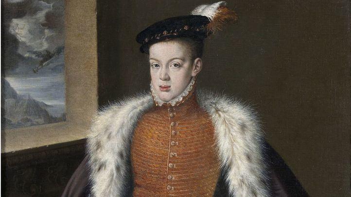 Retrato de Carlos de Austria, hijo de Felipe II.