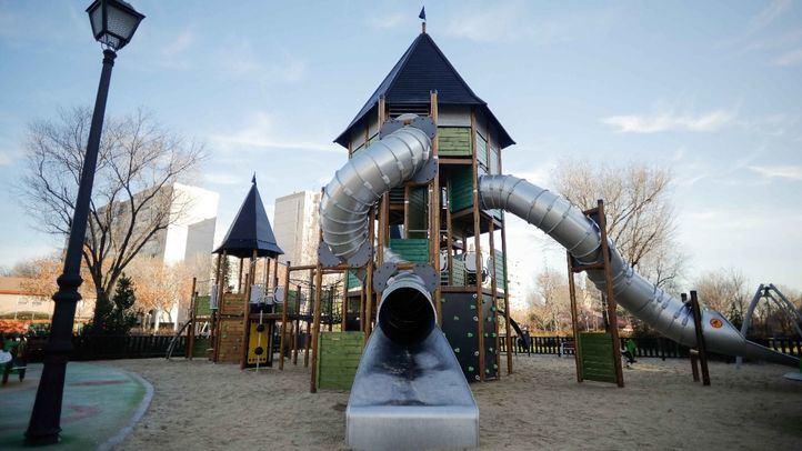 El área infantil de 720 metros cuadrados en la calle  Beasaín.
