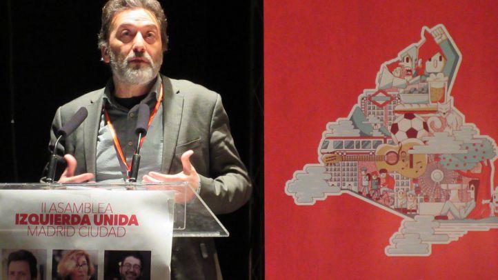 El tercer teniente de alcalde y coportavoz de IU Madrid, Mauricio Valiente