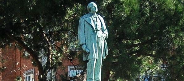 Estatua del Marqués de Salamanca en la plaza del mismo nombre.