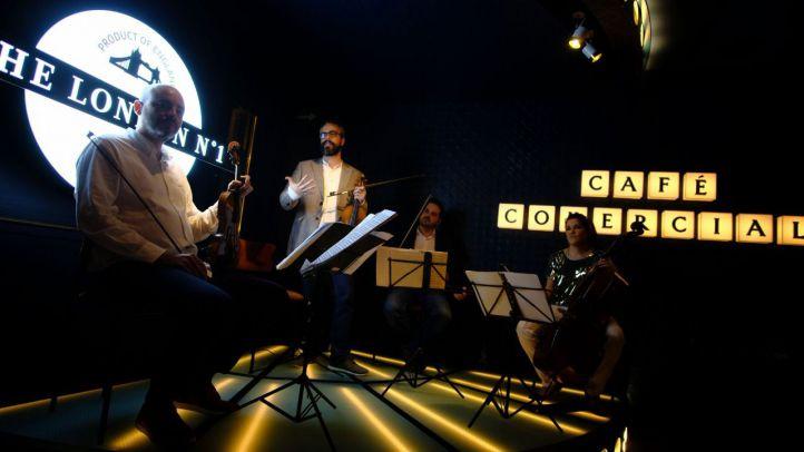 El Café Comercial acoge un ciclo de conciertos de música clásica