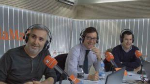 Alfonso Serrano y Juan Segovia en Com.Permiso,