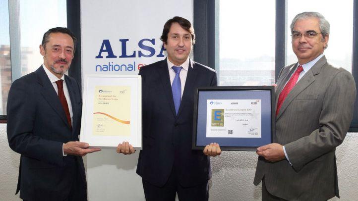 ALSA recibe el Sello de Excelencia Europea EFQM 500+.