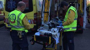 Muere un motorista arrollado por un coche en Chamartín