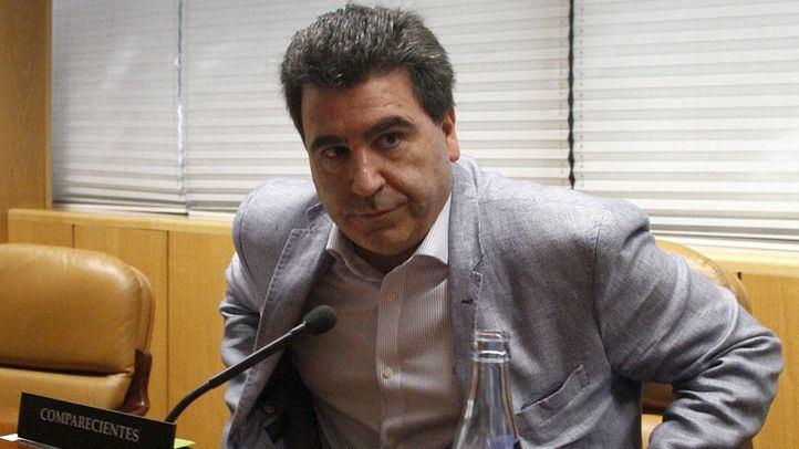 David Marjaliza, conocido como el conseguidor de la trama Púnica, comparece, acogiendose a su derecho de no declara, en la comisión de investigación de la corrupción de la Asamblea de Madrid.