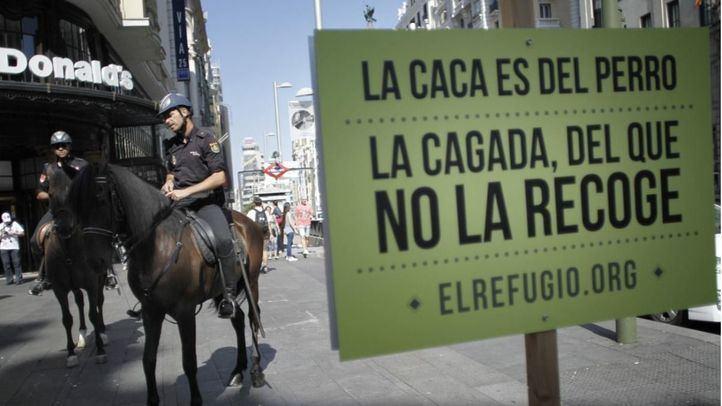 Campaña de El Refugio para la recogida de las 'cacas' de los perros