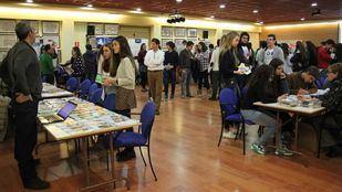 Imagen de una edición anterior de la Feria de Orientación Universitaria del Eurocolegio Casvi.