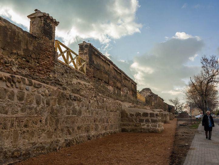 Muralla de Talamanca de Jarama.