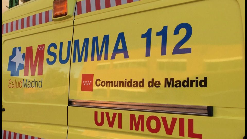Accidentada una ambulancia en la A-4 con un recién nacido dentro