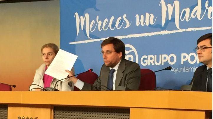 José Luis Martínez-Almeida presenta su querella