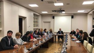 Reunión de los alcaldes con responsables del Ministerio de Fomento