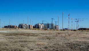 Madrid reduce a la mitad la vivienda prevista para el Sureste
