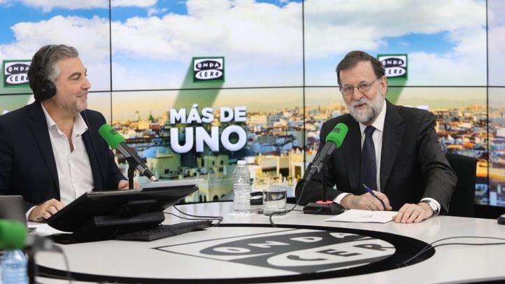 Mariano Rajoy, en Onda Cero