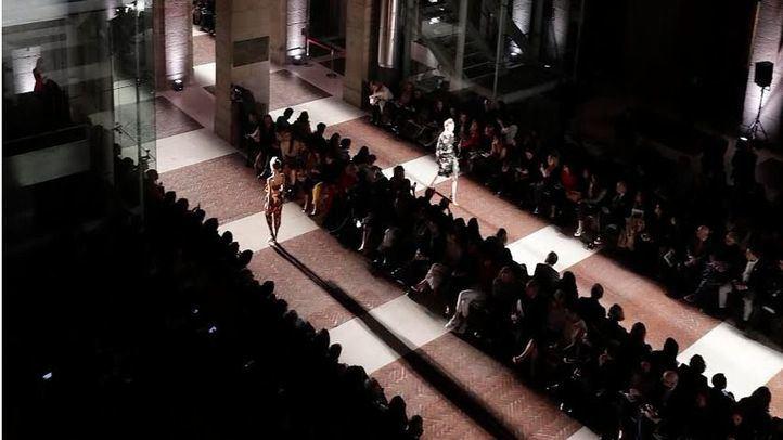 Foto de archivo de la Mercedes Benz-Fashion Week Madrid 2017 en la Real Casa de Correos.