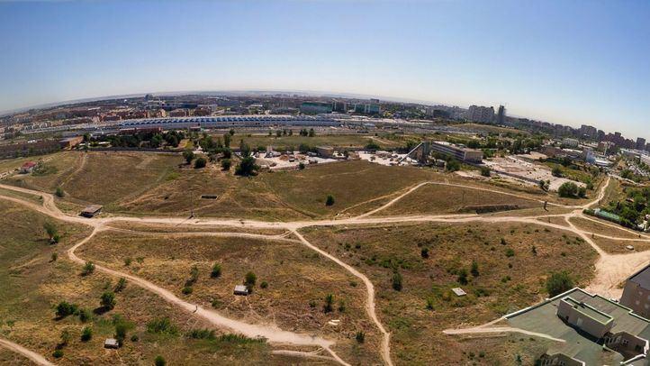 Panorámica de los terrenos donde se construirá Madrid Nuevo Norte