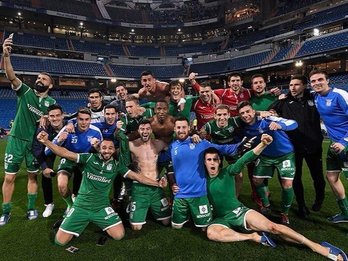 El Leganés se impone al Real Madrid y se clasifica para las ...