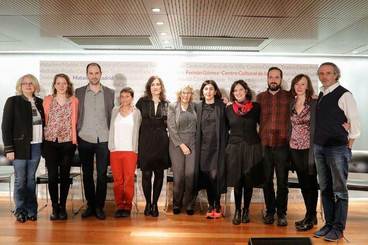 Presentación de los nuevos directores de los centros culturales del Ayuntamiento de Madrid.